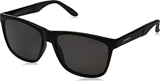a673326507f1 Carrera Mens Ca8022s Wayfarer Sunglasses, Matte Black/gray Polarized, 56 mm