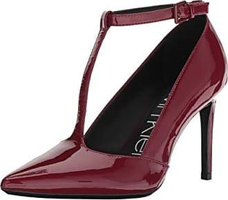 7a3fe9f92af Calvin Klein Womens Rocha Pump red Rock 5.5 Medium US