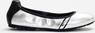 Hogan ballerina dettagli neri - bianco