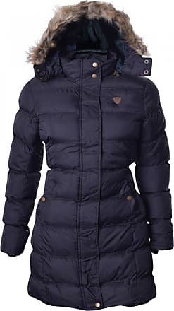 Brave Soul Womens Wizard Long Length Padded Coat Ladies Faux Fur Hooded Jacket