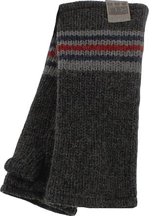 KuSan Knitted Grey Rib Handwarmers (PK1319)