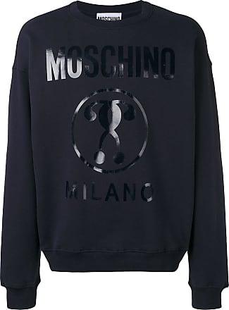0c3b18590cc Moschino Double Question Mark logo sweatshirt - Blue
