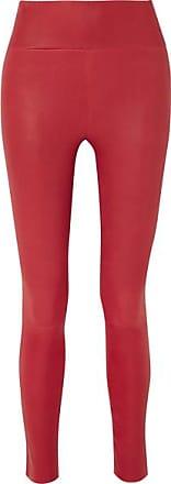 SPRWMN Leather Leggings - Red