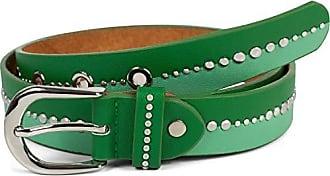 kürzbar Damen Gürtel zweifarbig mit runden Nieten Vintage glitzer Nietengürtel