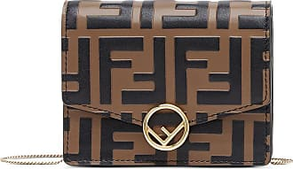 Fendi Bolsa mini F Is Fendi - Marrom