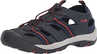 kamik Mens Byronbay Closed Toe Sandals, Blue (Navy Nav), 8 UK