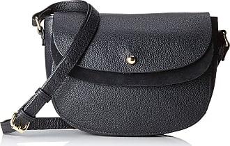 Pieces Pcmagda Leather Cross Body, Womens Cross-Body Bag, Black, 6x16x22 cm (B x H T)