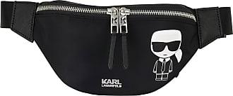 Karl Lagerfeld Gürteltasche IKONIK - SCHWARZ/ WEISS