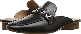 Bernardo Womens JEN Loafer Flat, Black Glove Leather, 8.5M M US