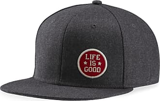 Life is good LIG Star Coin Semi-formal Flat Cap OS Slate Gray