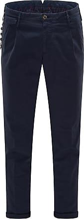 Pantaloni Torino Baumwollhose Arial navy bei BRAUN Hamburg
