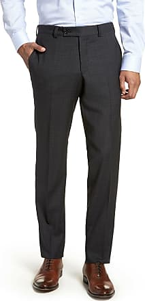 e08960e73 Ted Baker Jefferson Flat Front Check Wool Trousers