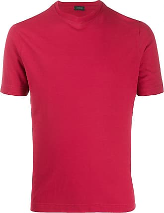Zanone Basic cotton T-shirt - Red