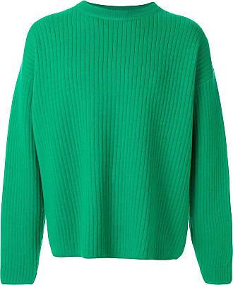 Ami Suéter oversized decote careca - Verde