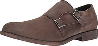 Kenneth Cole Reaction Mens Design 20644 Monk-Strap Loafer, Taupe, 11.5 M US