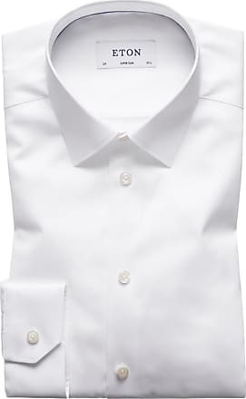 Eton Hochwertiges Businesshemd, Super Slim von Eton in Weiss für Herren