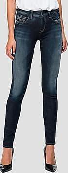 Replay Skinny High Waist Fit Hyperflex+ New Luz Jeans