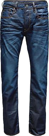 G-Star Jeans 3301 Straight donkerblauw