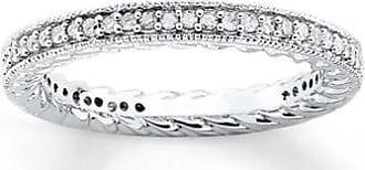 Kay Jewelers Stackable Diamond Ring 1/3 ct tw Round-cut Sterling Silver