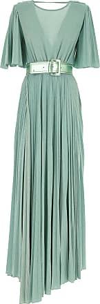 Elisabetta Franchi Dress for Women, Evening Cocktail Party On Sale, aquamarine, viscosa, 2017, 4 6 8
