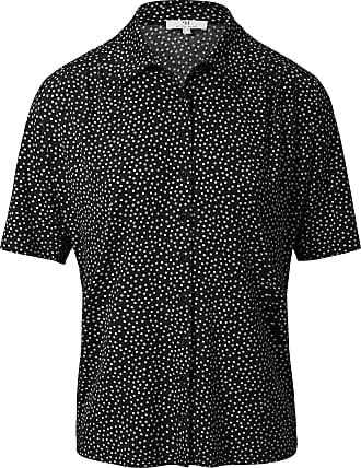 Peter Hahn Polka dot jersey blouse Peter Hahn black