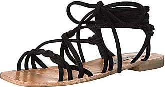 Chinese Laundry Womens Tori Gladiator Sandal, Black Suede, 7.5 M US
