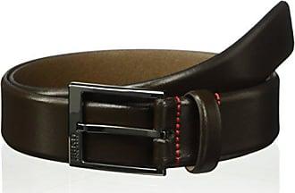22c76c5aa61 HUGO BOSS HUGO by Hugo Boss Mens Garney Leather Belt, Dark Brown, 40