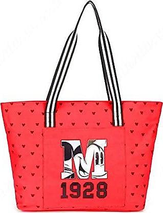 Disney Bolsa Feminina Vermelha Mickey
