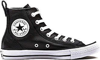 633d5ceef4e1f0 Converse Chuck Taylor All Stars Chelsee Hi Leather Womens Shoes Black Cloud  Cream White