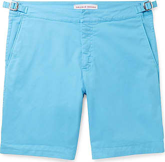 Orlebar Brown Dane Stretch-cotton Twill Shorts - Blue