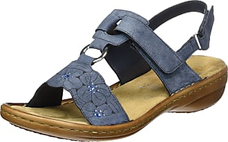 Rieker 60843, Womens Closed Toe Sandals Closed Toe Sandals, Blau (jeans / 14), 6.5 UK (40 EU)