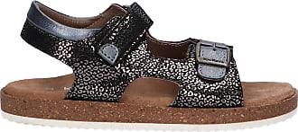 Kickers Women and Girl Sandals 694913-30 FUNKYO 81 Noir Leopard Size 11.5 UK Black