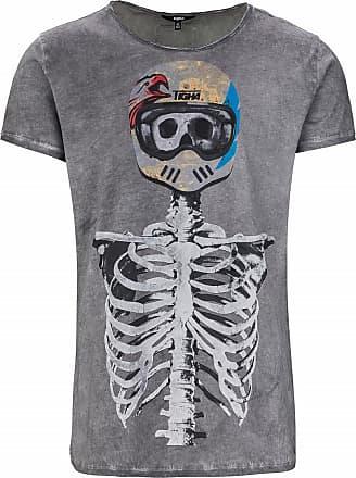 c2b9af349f3563 Tigha Herren Shirts Fast Skeleton MSN grau (vintage grey)