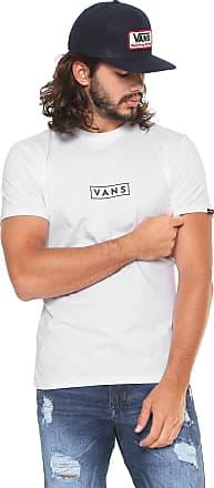 1d08833e64a Vans Camiseta Vans Easy Box Branca