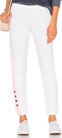Wildfox Love Track Sweatpant in White