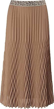 Basler Rok met zigzagplissé Van Basler bruin