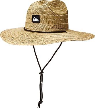Quiksilver Mens Pierside Sun HAT, Natural, L/XL