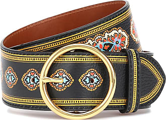 Etro Printed leather belt