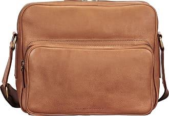 Maxwell Scott Maxwell Scott - Luxury Camel Italian Leather Mens Messenger Bag