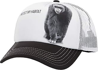 The Mountain Mens Protect My Habitat Hat, White, Adjustable