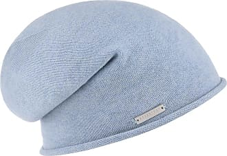 6d01b1bd218 Seeberger Rolled Edge Beanie women´s beanie long beanie (One Size - light  blue