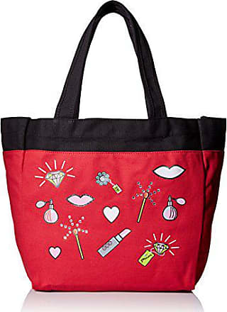 Koi Womens Canvas Tote Bag with Fun Designer Print, Match Bag, One Size