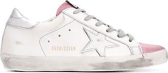 Golden Goose Sneakers mit Schnürung - Weiß