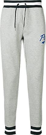 Polo Ralph Lauren pantalon de jogging fuselé à logo - Gris f6c50a3ba3c