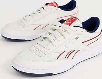 Reebok Revenge Plus - Sneaker in Weiß mit Zierpaspeln und Metalllogo