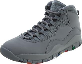 Nike Tênis Nike Air Jordan 10 Retro Cool Grey Closer Look (42)