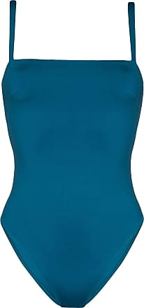 Asceno Badeanzug mit eckigem Ausschnitt - Blau
