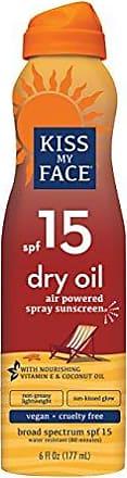 Kiss My Face SUN DRY OIL C-SPRAY SPF15
