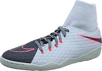 cheap for discount c95a1 6e60e Nike Hypervenomx Phelon III DF IC, Chaussures de Football Homme, Bleu  (Lightt Black