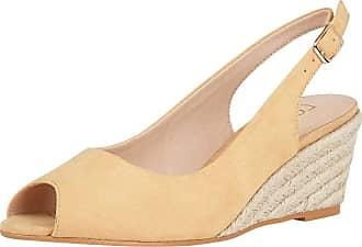 Lotus Tiffany Womens Peep Toe Wedges 7 UK Yellow